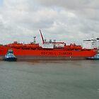 Bow Star docking at Fawley by Jonathan Cox