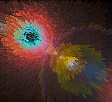3D Dimensional Art Abstract by DavidHornchurch