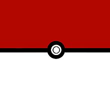 Pokeball iPhone/ iPod Case by LauraHorgan