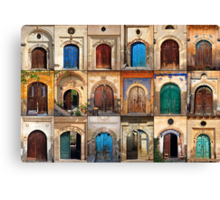 Doors of Sinasos Canvas Print