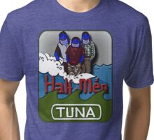 Tuna Half-men Tri-blend T-Shirt
