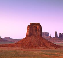 Monument Valley  by Roupen  Baker