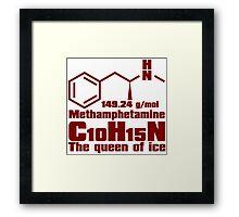 Methamphetamine Framed Print