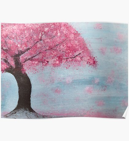 Cherry Blossom Tree Poster