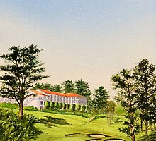 The Olympic Club 18Th Hole by bill holkham