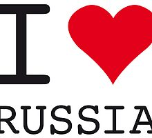 I ♥ RUSSIA by eyesblau