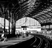 Brighton Train Station by rsangsterkelly