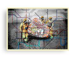 wartime : treasure hunt Canvas Print
