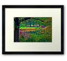 Autumn in Central Park Framed Print