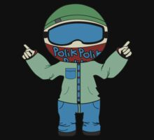 Polik Apparel Mascot King Three by PolikApparel