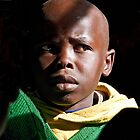 Masai Student by phil decocco