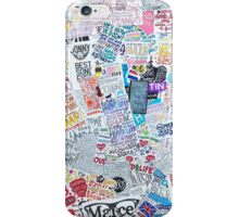 Drawings Collage iPhone Case/Skin