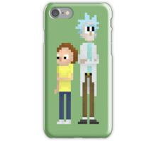 8-Bit Rick and Morty iPhone Case/Skin