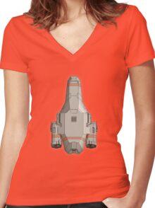 The Kestrel Women's Fitted V-Neck T-Shirt