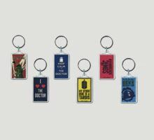 Doctor Who Key Rings by Shahram Saadat