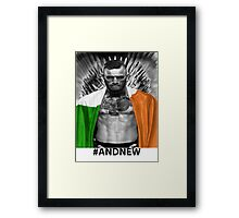 UFC Conor Mcgregor New Champion Framed Print