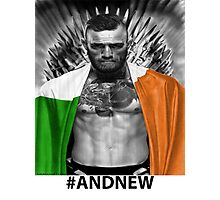 UFC Conor Mcgregor New Champion Photographic Print