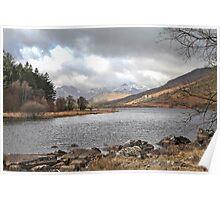 Snowdonia Lake Poster