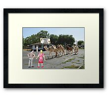 You've been bugging me for years about wanting to see Camelot......well, here ya go!! Framed Print