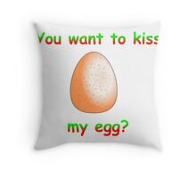 Lucky Egg Throw Pillow