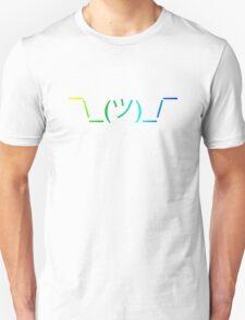 Shrug Emoji ¯\_(ツ)_/¯ Unisex T-Shirt