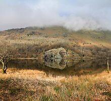 Llyn Gwynant, Snowdonia by Janet Jenkins