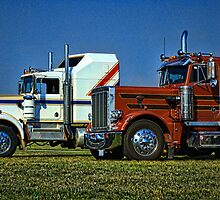 Big Rigs and Trucking U.S.A. by TeeMack