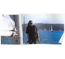 A bday Sail Poster