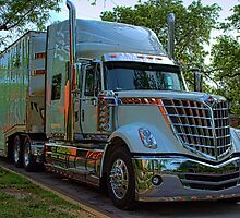2009 International LoneStar Car Transport Semi-Truck by TeeMack
