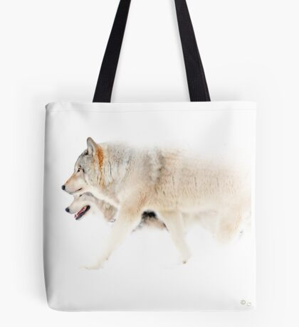 Le chant du Loup - Hunting in the mist Tote Bag
