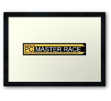 PC Master Race Logo  Framed Print