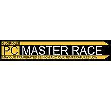 PC Master Race Logo  Photographic Print