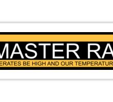 PC Master Race Logo  Sticker