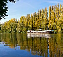 Reflections on the River Oise by Alex Cassels