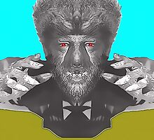 Lon Chaney Jr, alias in The Wolf Man by Art Cinema Gallery