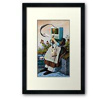 Freudian Slip 2. Framed Print