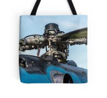 Helicopter engine. Tote Bag