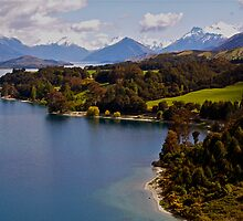 Lake Wakatipu by Alex Cassels