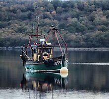 Oban reflection by Gary Power