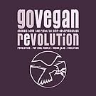 GO VEGAN REVOLUTION by fuxart