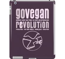 GO VEGAN REVOLUTION iPad Case/Skin