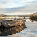 Llangorse Lake by Steve  Liptrot