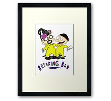 Rugrats/Breaking Bad - Chefs Framed Print
