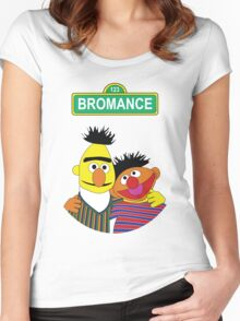 The Bromance of Ernie & Bert Women's Fitted Scoop T-Shirt
