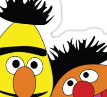 The Bromance of Ernie & Bert Sticker