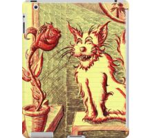 Lusty ~ The Cat and The Rose iPad Case/Skin