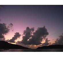 Purple Hills Photographic Print