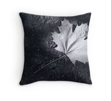 The Leaf, by Darren Richards Throw Pillow