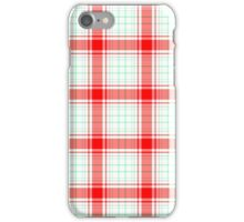 iPhone Case Red Checkered iPhone Case/Skin