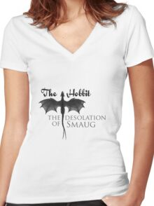 Desolation Women's Fitted V-Neck T-Shirt